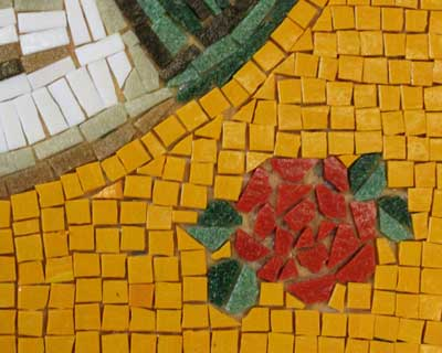 mosaic-rose-detail