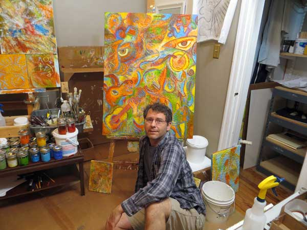 joe's painting studio