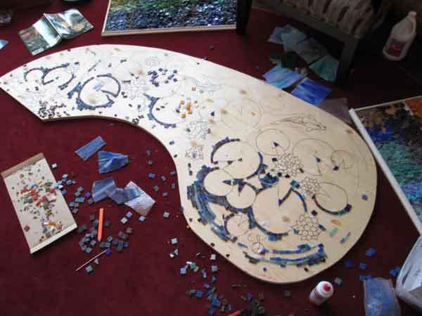 Mounting Mosaic Tile