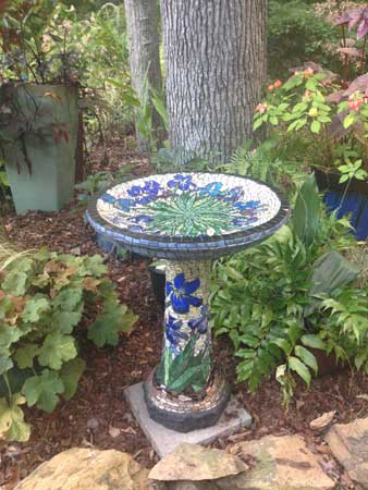 Mosaic Bird Bath How To Mosaic