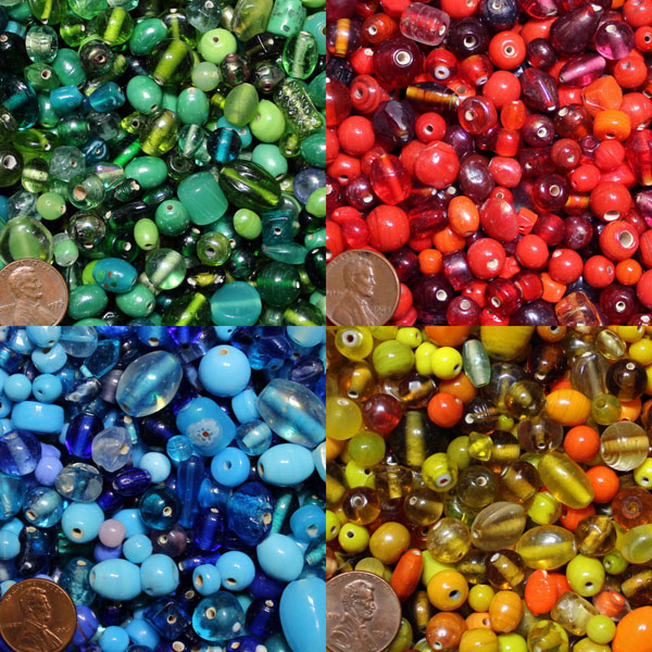 Small Glass Beads