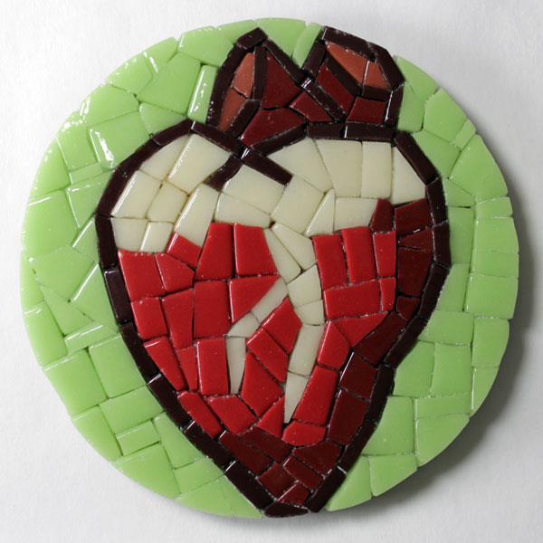Mosaic Coaster Heart