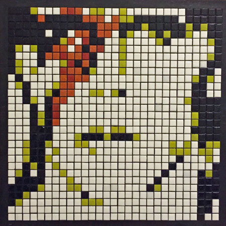 David Bowie Mosaic Portrait