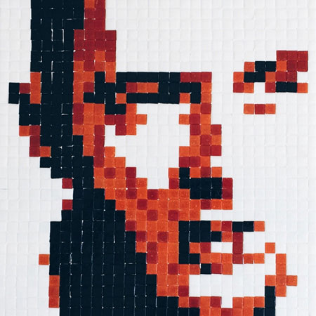 Joe Strummer Mosaic Portrait