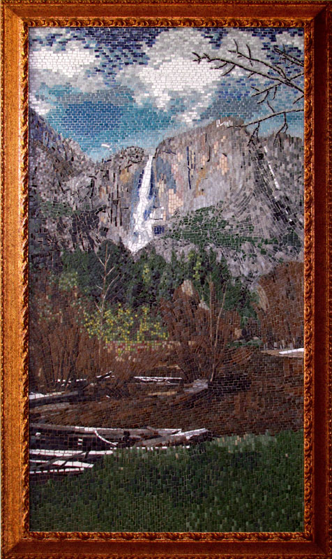 Yosemite Mosaic landscape by Jim Price.