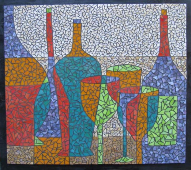 Mosaic Art Untitled Valri Castleman