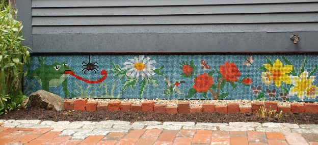Lisa Jones Patio Mosaic