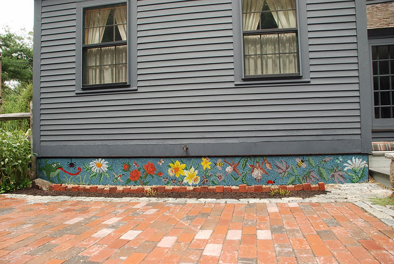 Patio Mosaic Full View