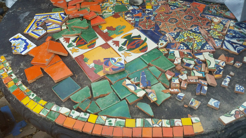 Placing Mosaic Tiles