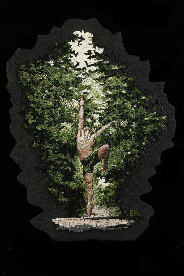 La Primavera Mosaic Michael Kruzich.