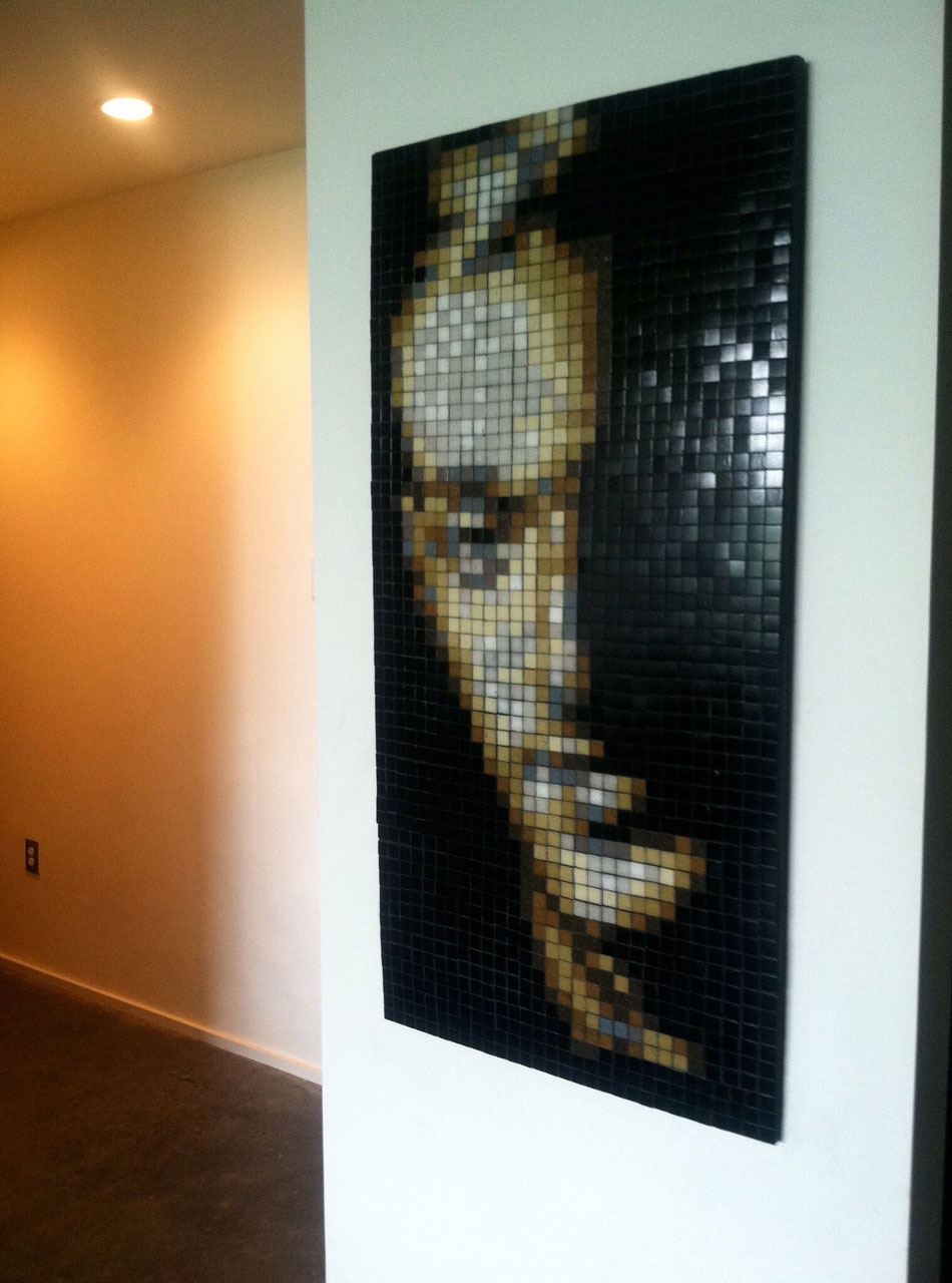 Mosaic Portrait by David Armstrong