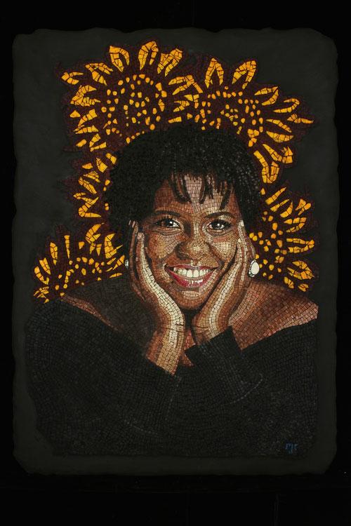 Wanda Mosaic Portrait
