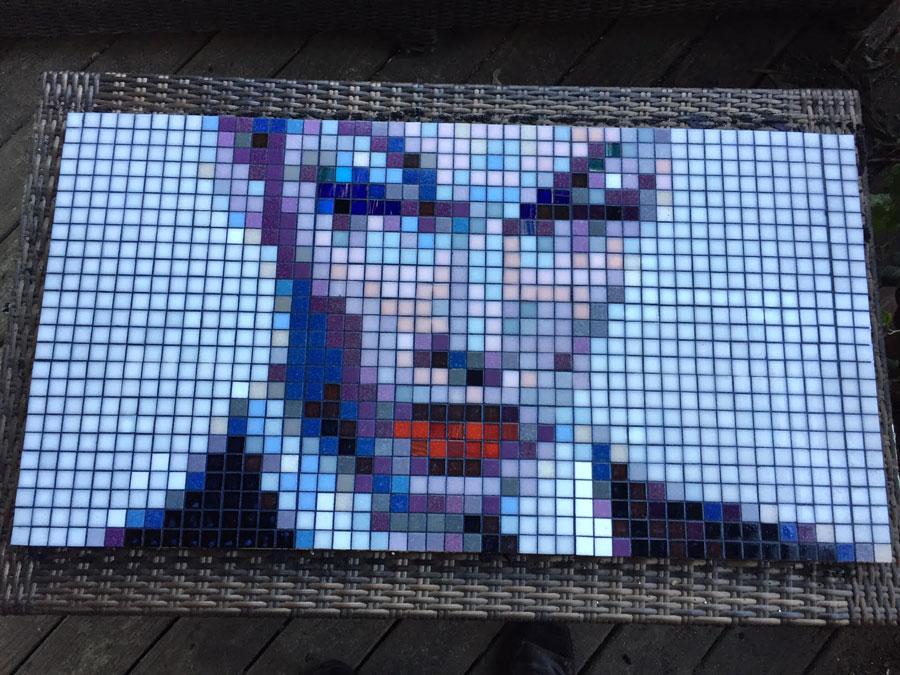 Mosaic Violet Chachki