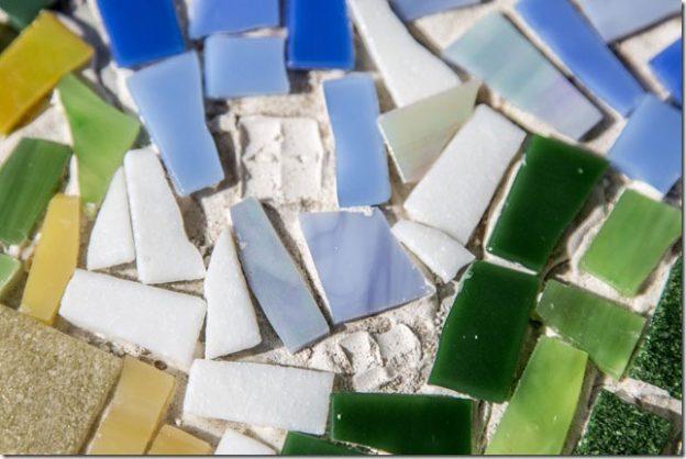 Missing Tiles Detail View Mosaic Art