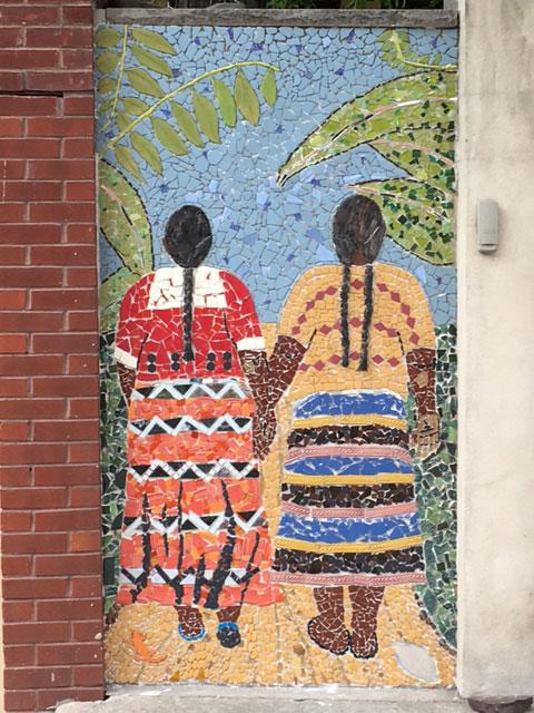 Mosaic Guatemalan Women Pre-grout