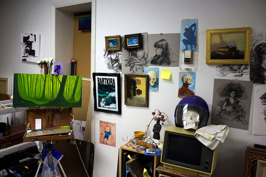 Adam Sprague's Studio Space