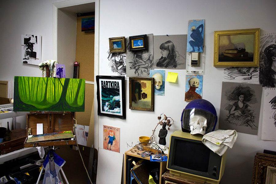 Adam Sprague's Studio Space