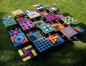 Common Ground Public Art Mosaic Tables