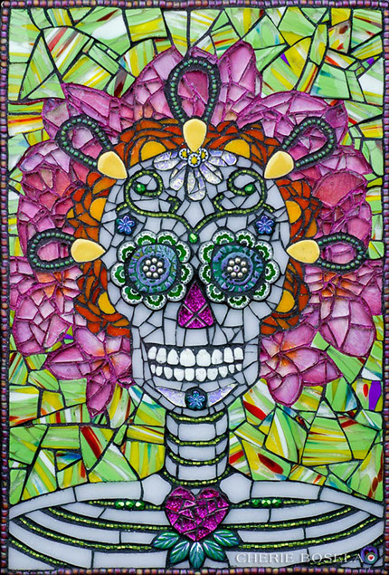Lolo Day of the Dead Mosaic
