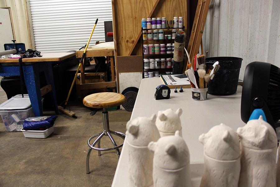 Nikita Raper pottery studio
