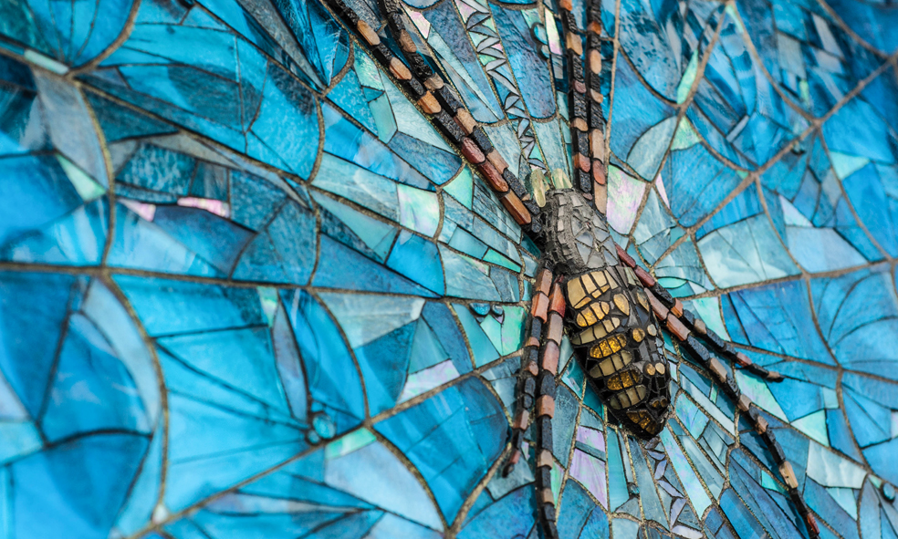 The Guardian Mosaic by Cherie Bosela