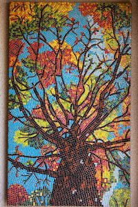 Tree Mosaic Art Robert Friedlander