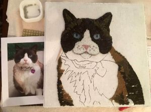 Pet Memorial Mosaic Sugar