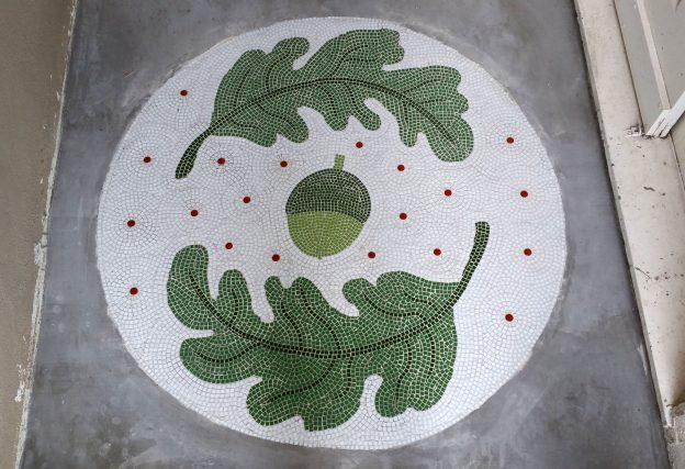 Entranceway Floor Mosaic by Ana Bonnin