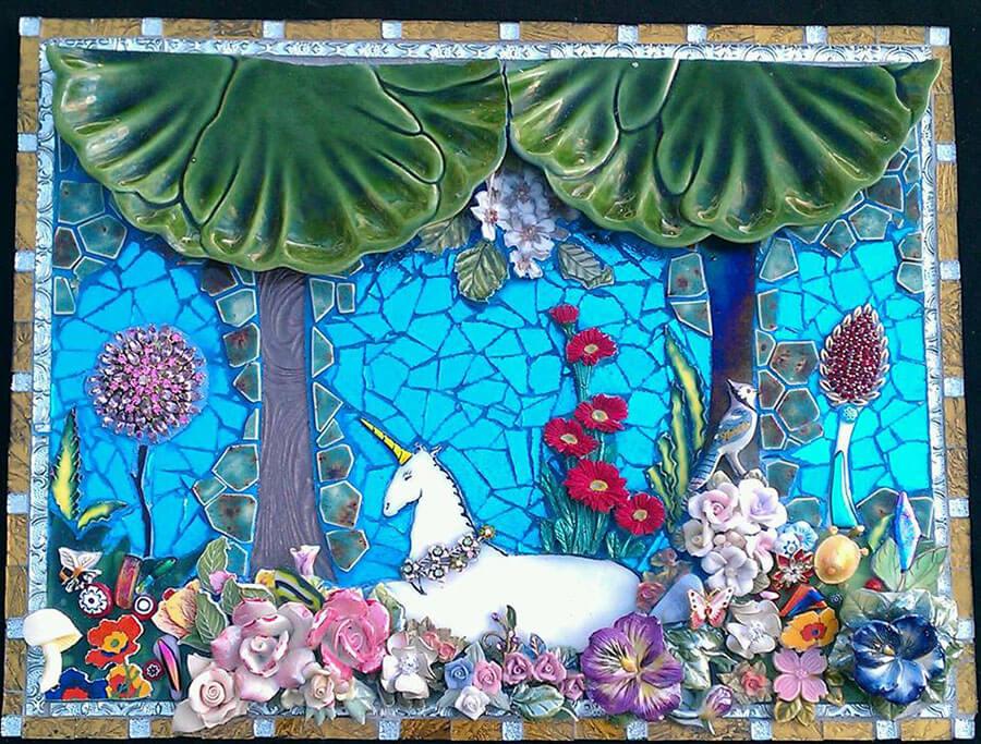 Unicorn Mosaic Laurie Gilson