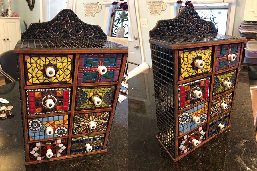 Tiled Chest-of-Drawers