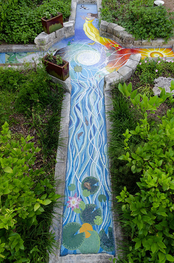 Four Elements Path Mosaic