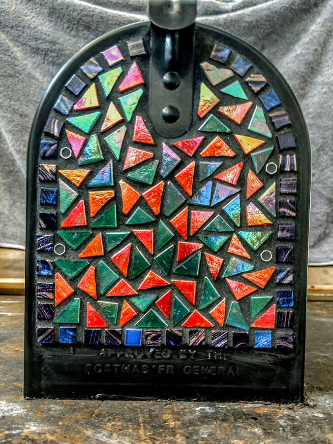 Mosaic Mailbox Rear Panel