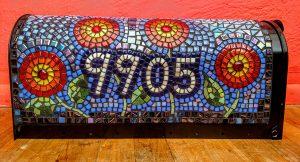 Mosaic Mailbox Jill Gatwood