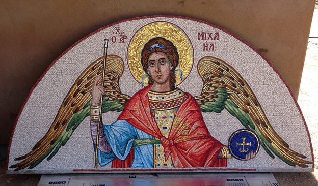 Mosaic St. Michael the Archangel