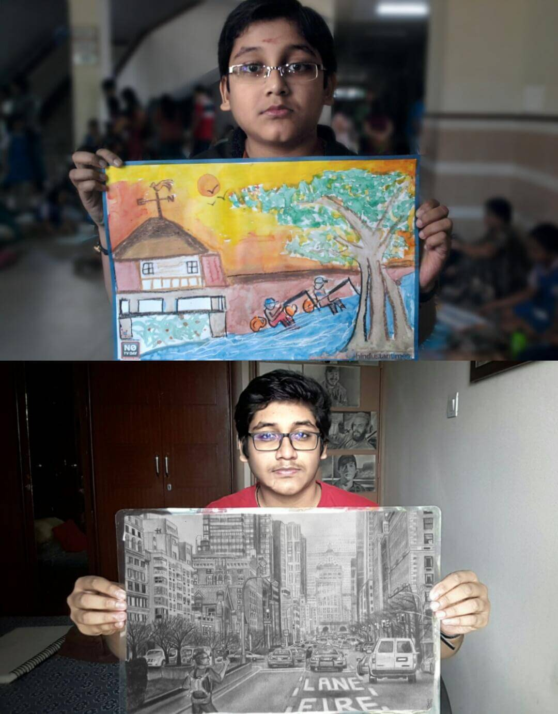 Unidentified Artist Shares Progress
