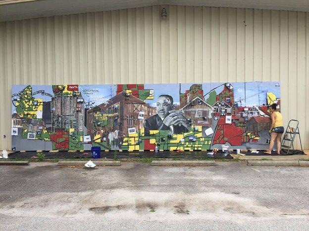 civil-rights-mural-in-progress
