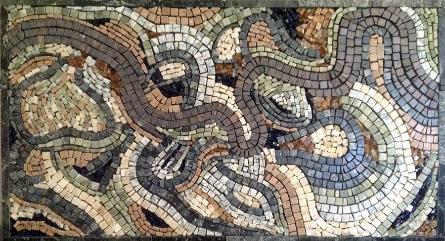 Mosaic River Meanders by artist Karla Conmy.