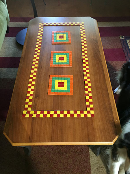 Mosaic Coffee Table design study.