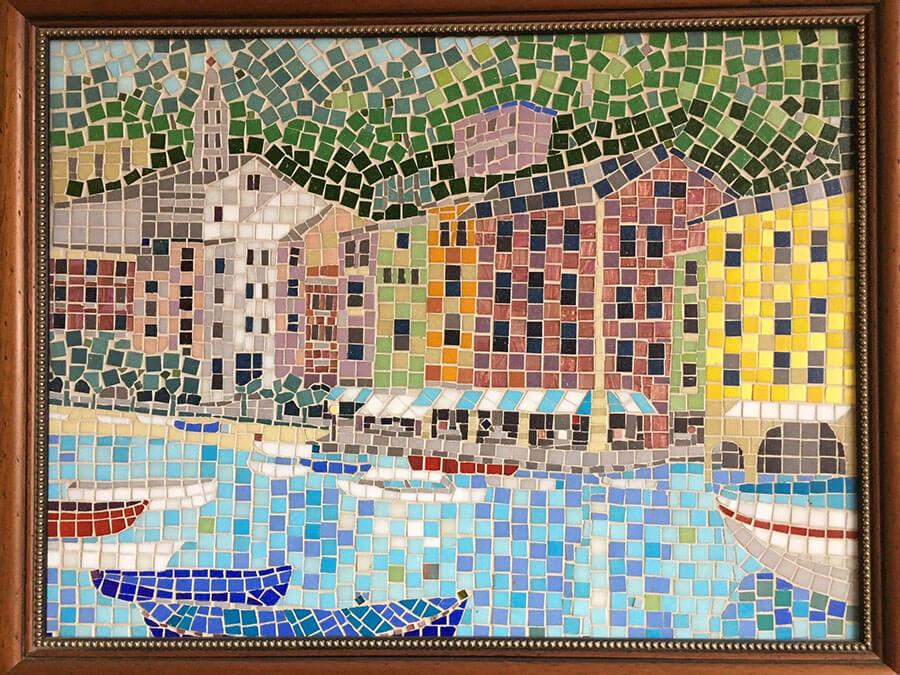 Portofino Mosaic by Terry Broderick.