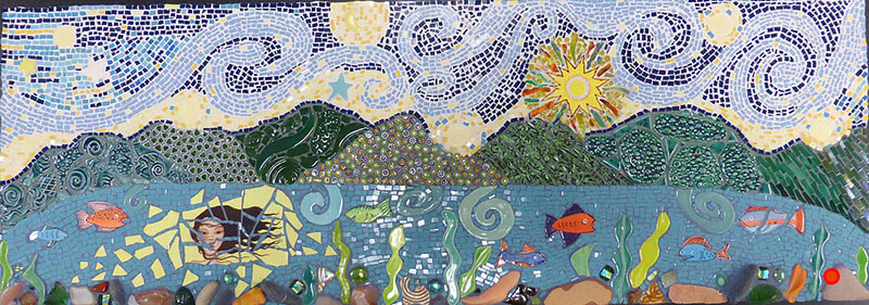 Mosaic Lady of Grand Lake by Janet Sacks