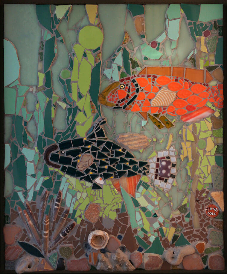 Mosaic Under the Sea by Janet Sacks