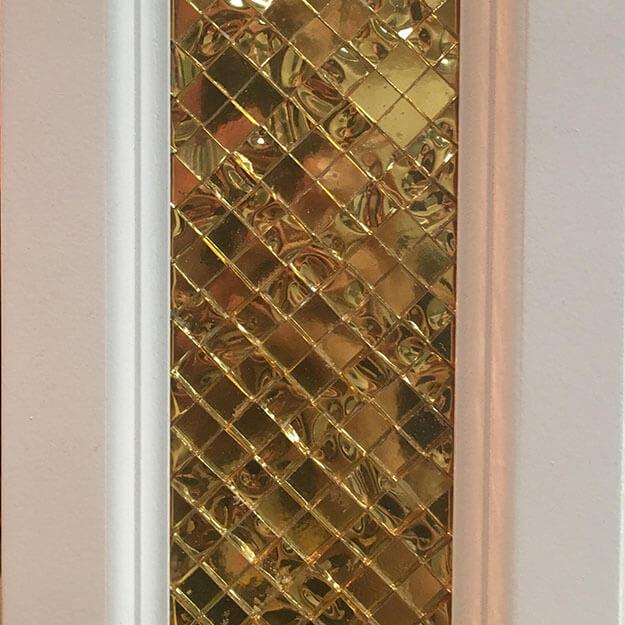 Doorway Mosaic Insert by artist Nicholas Vasko