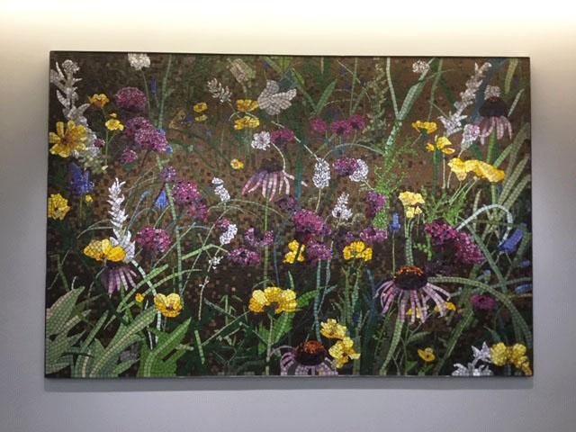 Prairie II (Coneflower) Mosaic, 6 ft x 9 ft
