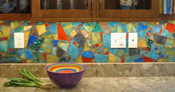 Mosaic Backsplash Stained Glass