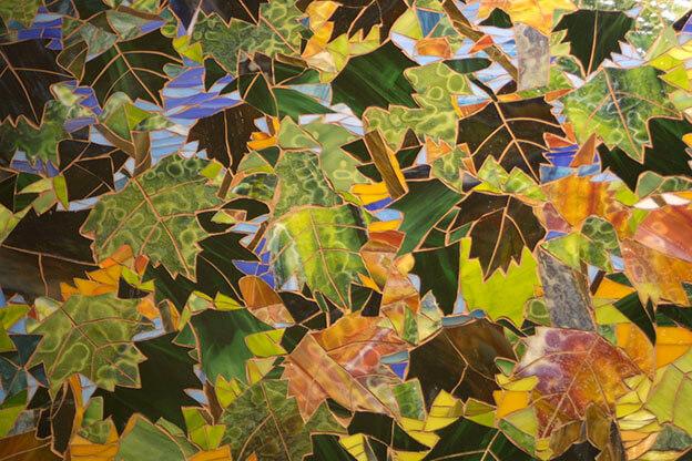 Mosaic Chippewa Creek Detail by artist Yulia Hanansen