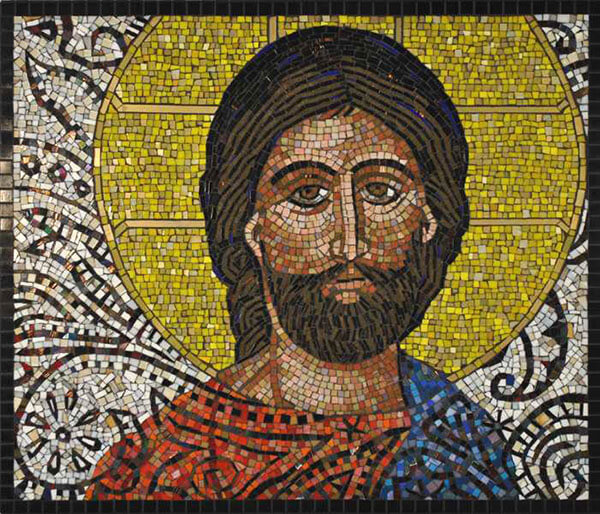 Mosaic Icon Christ