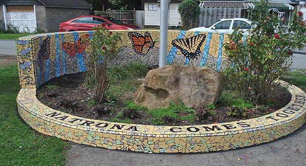 Mosaic Public Art Matrona