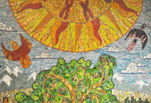 mosaic-science-mural-detail