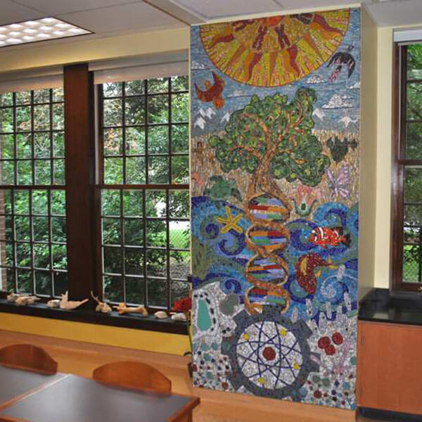 Science Mural Mosaic