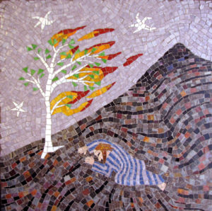 mosaic-moses-and-the-burning-bush